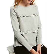 Buy White Stuff Frilly Jersey Jumper Online at johnlewis.com