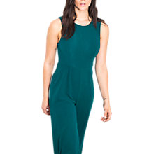 Buy Wild Pony Tie Back One Piece Wide Leg Jumpsuit, Green Online at johnlewis.com