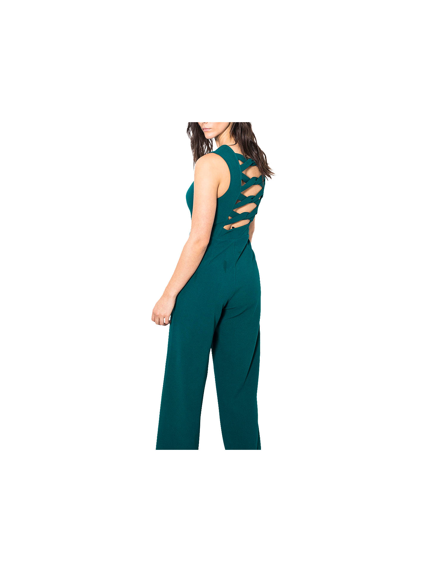 a4b9c2851aad ... Buy Wild Pony Tie Back One Piece Wide Leg Jumpsuit