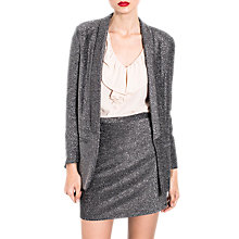 Buy Wild Pony Throw On Blazer Jacket, Grey Online at johnlewis.com