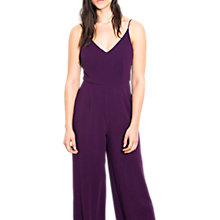 Buy Wild Pony Jumpsuit, Purple Online at johnlewis.com