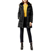 Buy Warehouse Fitted Wadded Long Sleeve Coat Online at johnlewis.com