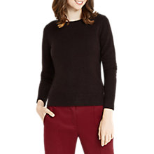 Buy Oasis Embellished Perfect Crew Neck Jumper Online at johnlewis.com