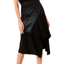 Buy Coast Nella Asymmetric Skirt, Black Online at johnlewis.com