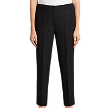 Buy AllSaints Selma Cropped Trousers, Black Online at johnlewis.com
