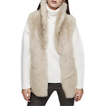 Buy Reiss Lille Shearling Gilet Online at johnlewis.com