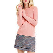 Buy Oasis The Rib Side Perfect Crew Knitted Jumper Online at johnlewis.com