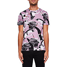 Buy Ted Baker Gromet Bird Print T-Shirt Online at johnlewis.com