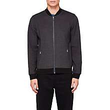 Buy Ted Baker Fowler Bomber Jacket, Black Online at johnlewis.com
