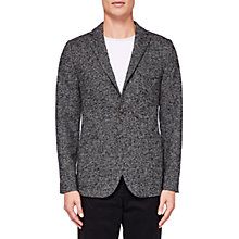 Buy Ted Baker Dustin Herringbone Blazer, Charcoal Online at johnlewis.com