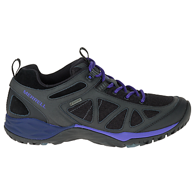 Merrell Women's Siren Sport Q2 Gore-Tex Walking Shoes, Black/Liberty