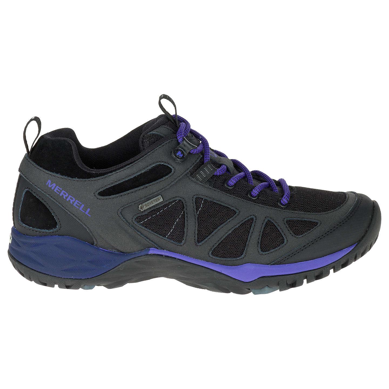 Merrell Women s Siren Sport Q2 Gore Tex Walking Shoes Black Liberty