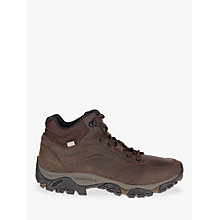 Buy Merrell MOAB Adventure Mid Waterproof Hiking Boots, Dark Earth Online at johnlewis.com