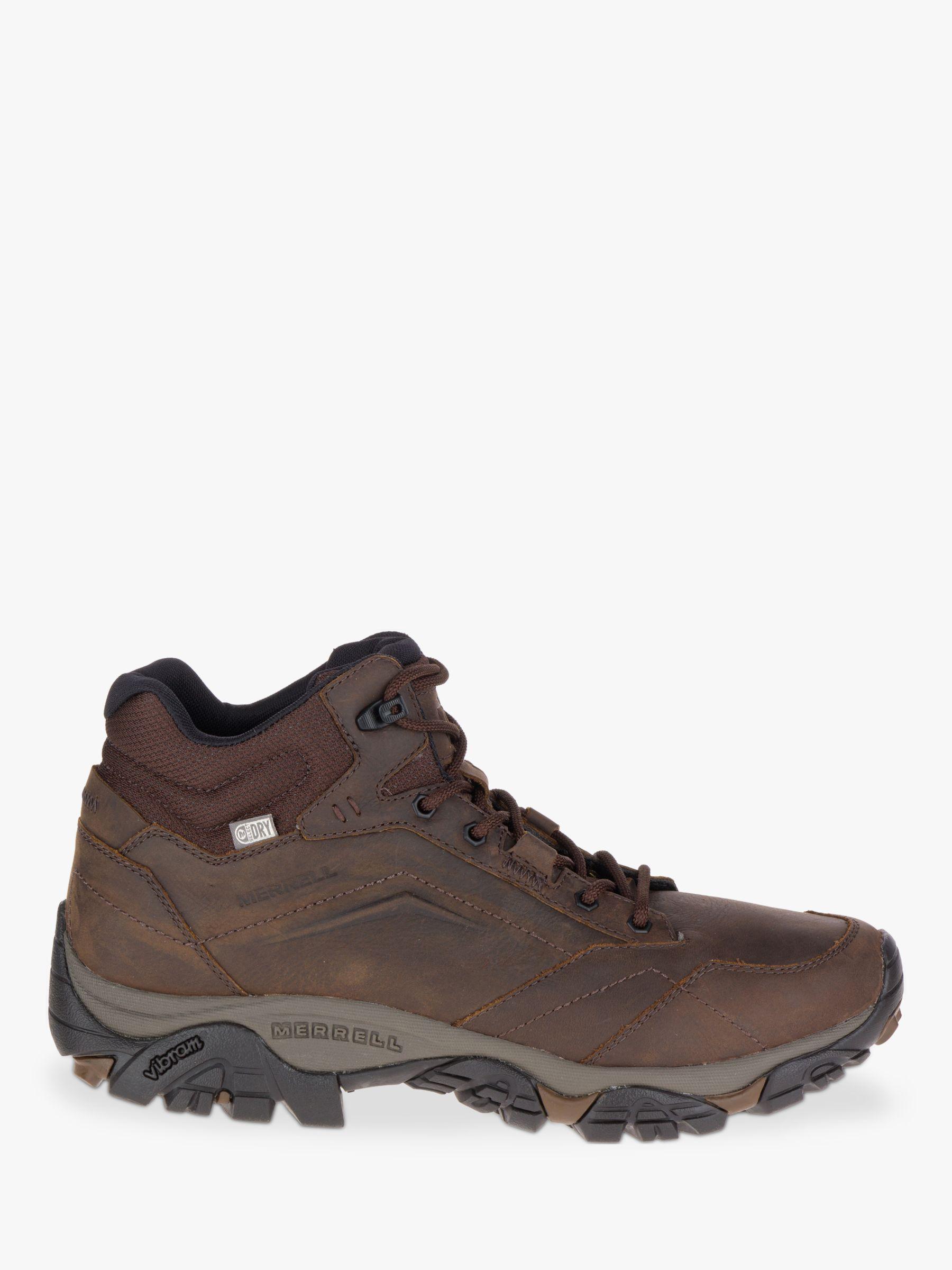 Merrell Merrell MOAB Adventure Mid Waterproof Men's Hiking Boots, Dark Earth