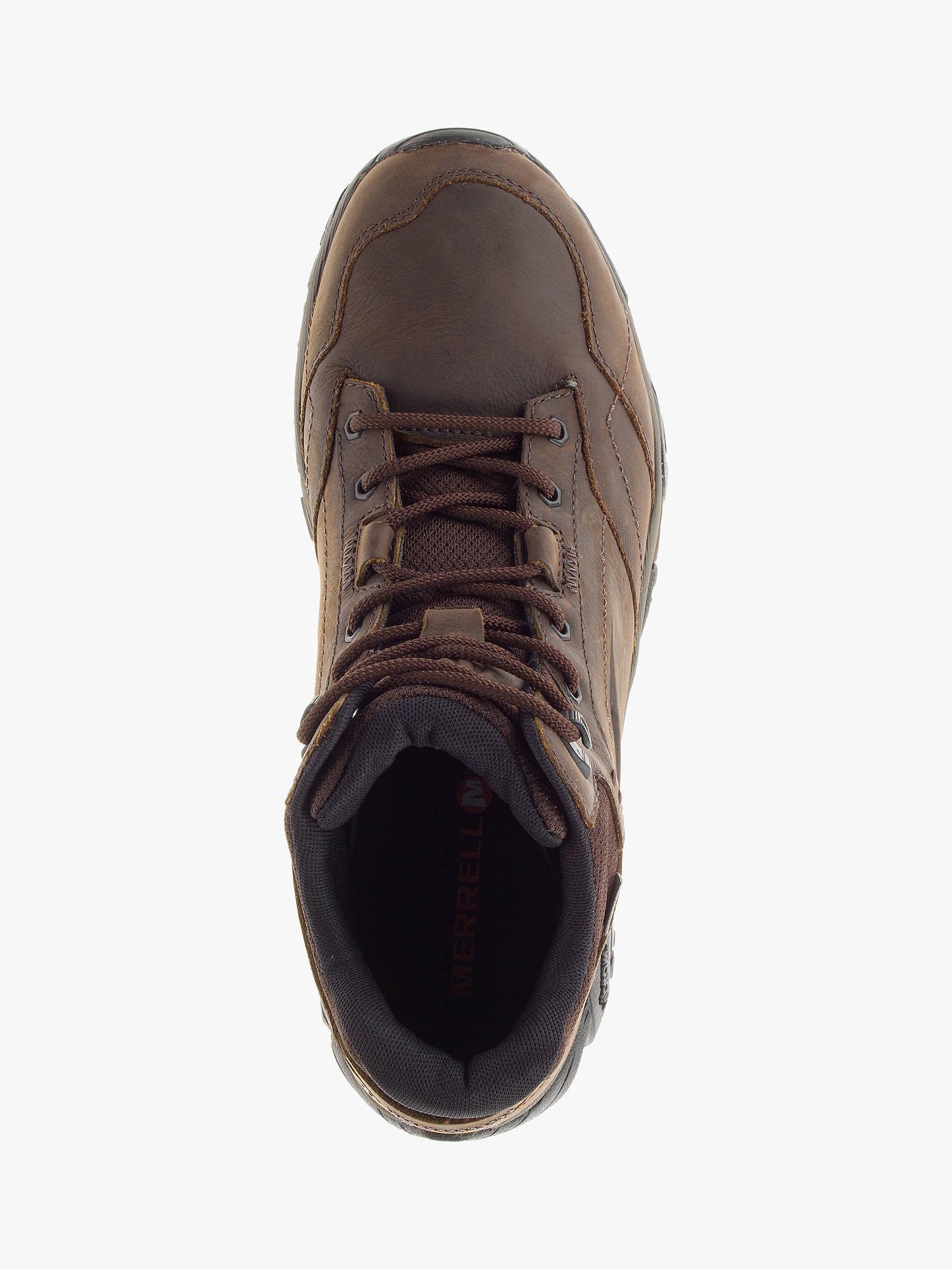 e42ce0079bf Merrell MOAB Adventure Mid Waterproof Men's Hiking Boots, Dark Earth