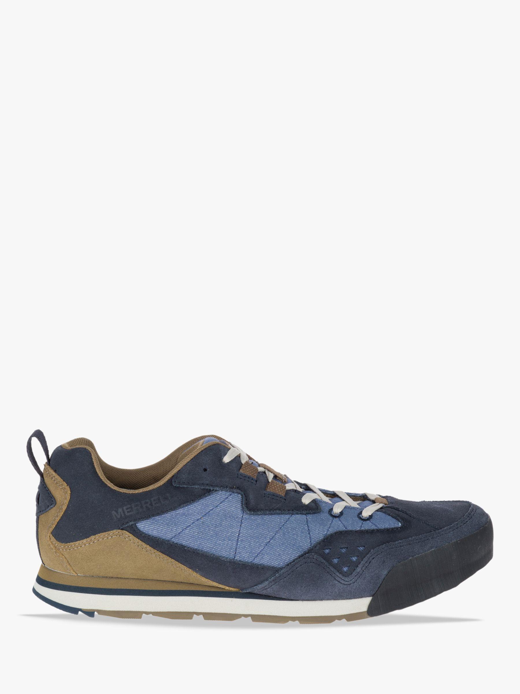 110a1f972a4c7 Merrell Burnt Rock Men's Shoes, Kangaroo/Denim Blue at John Lewis & Partners