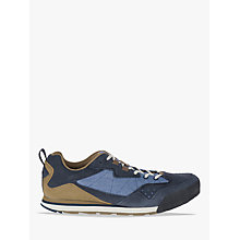 Buy Merrell Burnt Rock Men's Shoes, Kangaroo/Denim Blue Online at johnlewis.com