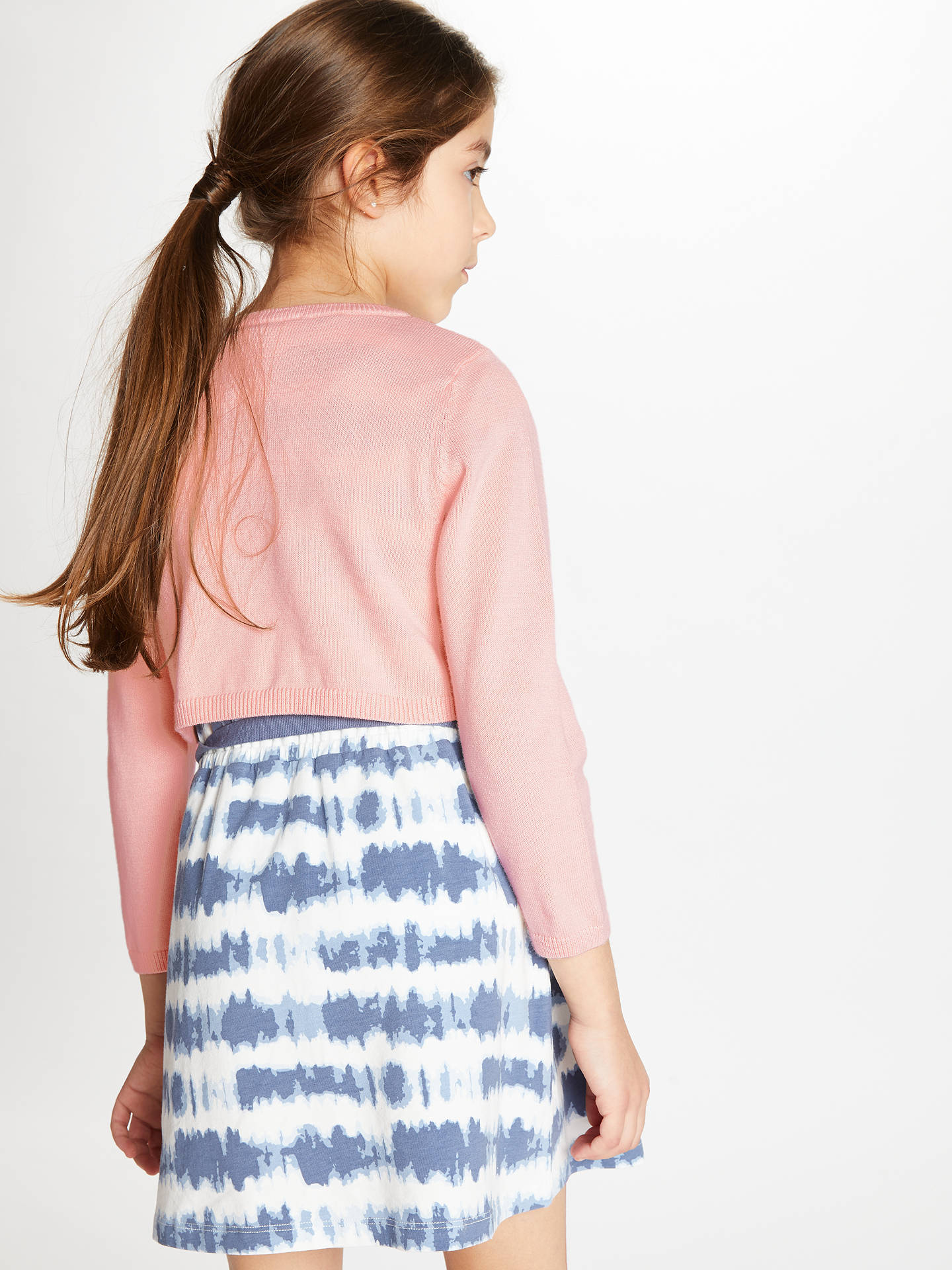 BuyJohn Lewis & Partners Girls' Shrug, Chintz Rose, 2 years Online at johnlewis.com