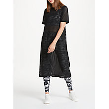 Buy PATTERNITY + John Lewis Airtex Shell Dress, Black Online at johnlewis.com