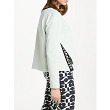 Buy PATTERNITY + John Lewis Side Split Reconnect Boxy Sweater Online at johnlewis.com
