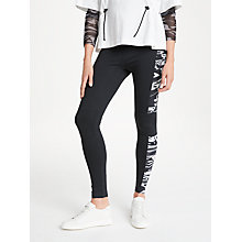 Buy PATTERNITY + John Lewis Panelled Leggings, Black/White Online at johnlewis.com