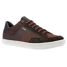 Buy Geox Taiki Amphibiox Waterproof Lace-Up Trainers, Dark Coffee Online at johnlewis.com