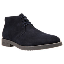 Buy Geox Brandled Suede Desert Boots Online at johnlewis.com
