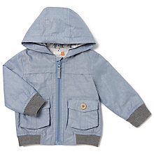 Buy John Lewis Baby Hockney Chambray Jacket, Blue Online at johnlewis.com