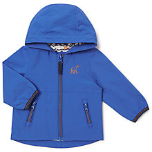 Buy John Lewis Baby Hockney Giraffe Embroidered Jacket, Blue Online at johnlewis.com