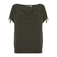 Buy Mint Velvet Split Sleeve Metallic Knit Top Online at johnlewis.com