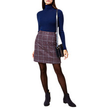 Buy Hobbs Elea Tartan Mini Skirt, Multi Online at johnlewis.com
