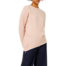 Buy Warehouse Soft Side Zip Jumper Online at johnlewis.com