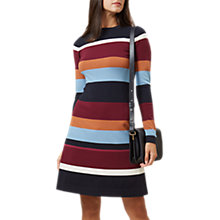 Buy Hobbs Lily Dress, Navy/Multi Online at johnlewis.com