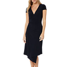 Buy Damsel in a dress Obi Wrap Dress, Navy Online at johnlewis.com
