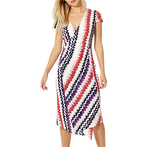 Buy Damsel in a dress Dashi Print Wrap Dress, Multi Online at johnlewis.com
