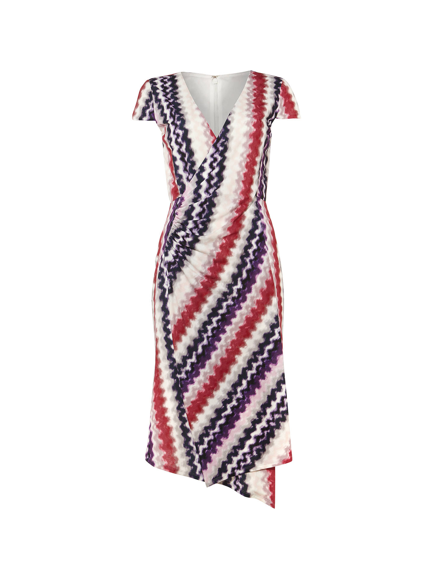 BuyDamsel in a Dress Dashi Print Wrap Dress, Multi, 10 Online at johnlewis.com
