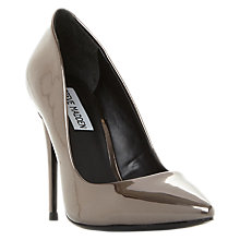 Buy Steve Madden Daisie Stiletto Heeled Court Shoes, Pewter Online at johnlewis.com