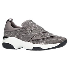 Buy Carvela Lipstick Embellished Slip On Trainers Online at johnlewis.com