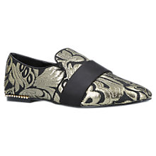 Buy Carvela Lounge Slip On Loafers, Gold Comb Online at johnlewis.com