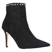 Buy Carvela Start Stiletto Heeled Ankle Boots, Black Online at johnlewis.com