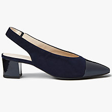 Buy Peter Kaiser Bozea Mid Block Heel Slingback Court Shoes Online at johnlewis.com