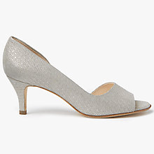 Buy Peter Kaiser Jamala Asymmetric Peep Toe Sandals Online at johnlewis.com