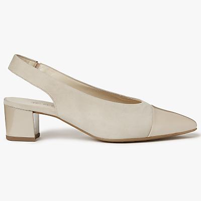 Peter Kaiser Bozea Mid Block Heel Slingback Court Shoes