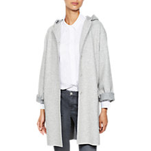 Buy Mint Velvet Relaxed Coat, Grey Online at johnlewis.com