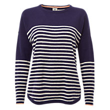 Buy White Stuff Tilly Cashmere Jumper, Navy Online at johnlewis.com
