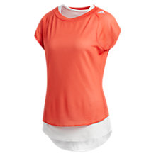 Buy Adidas TKO UV T-Shirt, Trace Scarlett Online at johnlewis.com