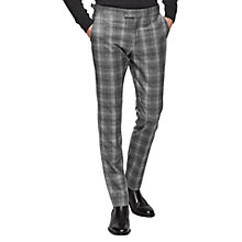 Buy Reiss Russell Check Tailored Wool Trousers Online at johnlewis.com