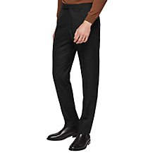 Buy Reiss Wilcox Slim Fit Suit Trousers, Black Online at johnlewis.com