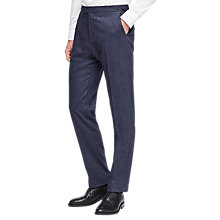Buy Reiss Reynolds Donegal Suit Trousers, Airforce Blue Online at johnlewis.com