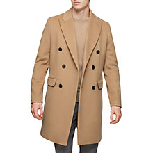 Buy Reiss Francisco Double-Breasted Overcoat Online at johnlewis.com